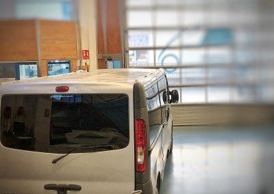 Laminas protección solar furgoneta