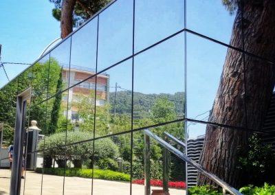Protección solar arquitectura garita IESE